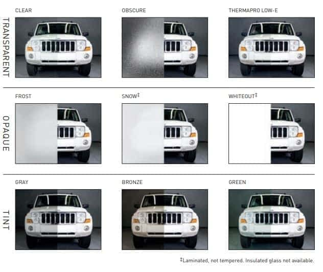 "alt=""amarr vista glass options diagram"""